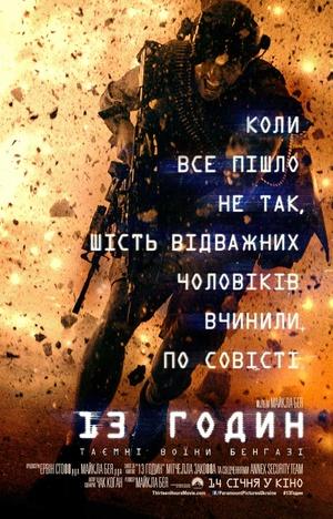 Фільм «13 годин: Таємні воїни Бенгазі» (2015)