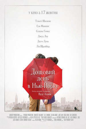 Фільм «Дощовий день в Нью-Йорку» (2019)