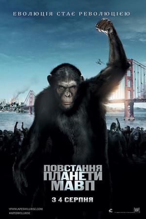 Фільм «Повстання планети мавп» (2011)