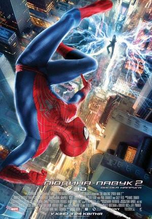 Фільм «Нова Людина-павук 2: Висока напруга» (2014)